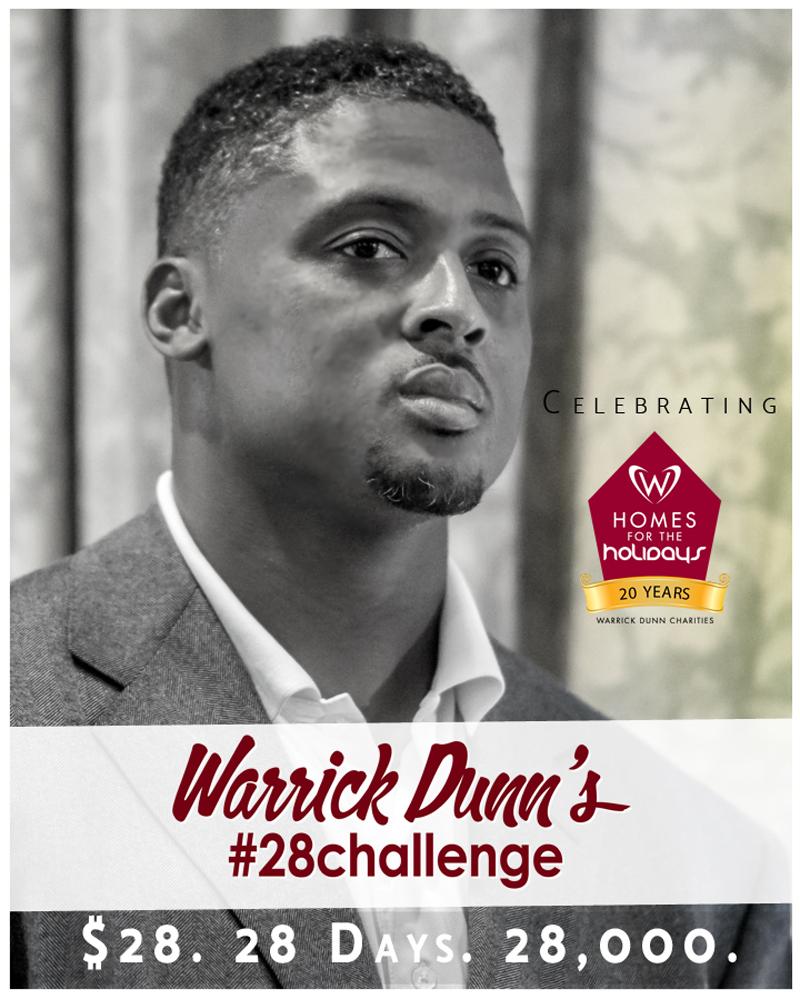 Donate Warrick Dunn Charities